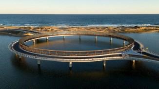 Puente Circular de la Laguna Garzón