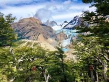 Glaciar Piedras Blancas/ foto Mónica Frías