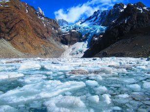 Glaciar Piedras Blancas/ foto Nicolas Echeverri Armand Pilon