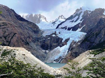 Glaciar Piedras Blancas/ foto Sergei Doronkin