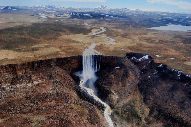 Salto del Río Page/ foto Julio Ojeda