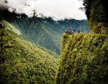 Carretera de La Muerte (Camino a Los Yungas)/ foto Mikel