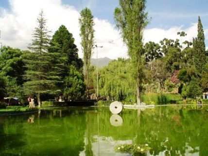 Jardín Botánico Martín Cárdenas/ foto Walter Wilfredo Valdivia Cáceres