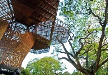 Orquideorama del Jardín Botánico/ foto Felipe Mesa