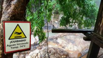 Termales Aguas Calientes/ foto Hilda Gonzalez