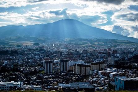 Volcán Galeras/ foto Situr Nariño