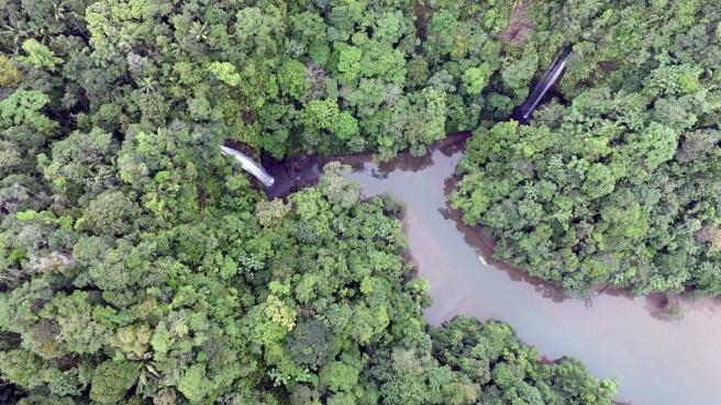 Cascadas La Sierpe