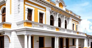Teatro Municipal Ernesto Salcedo Ospina/ foto Gilberto Lopez Angel