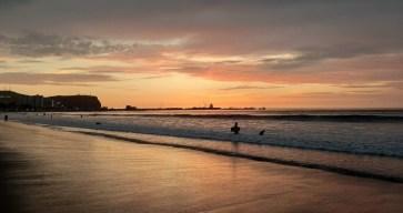 Playa Chinchorro/ foto Luz Estafanía Neri Guarachi
