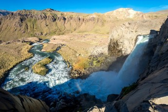 Salto del Maule/ foto Javier Orellana