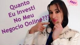 Comece Seu Negocio Online Gastando Pouco!!! Quanto Eu Investi!!!