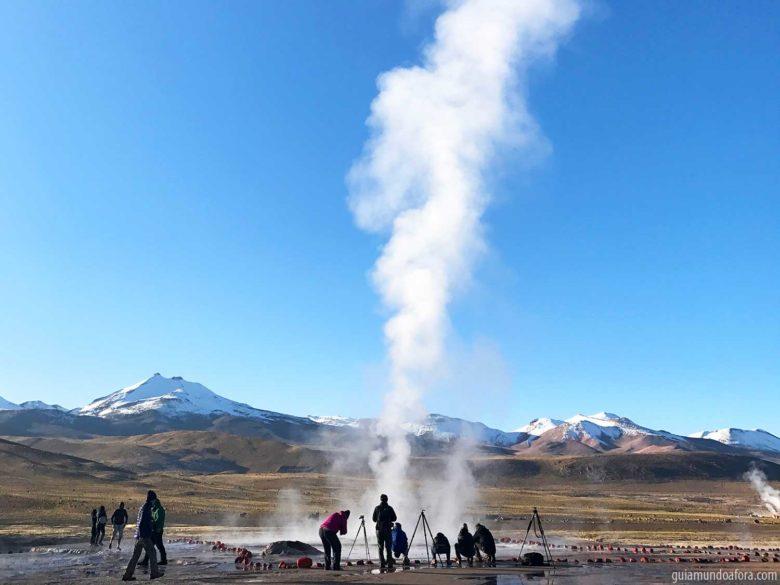Geysers no Atacama