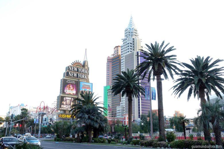 ruas de Las Vegas