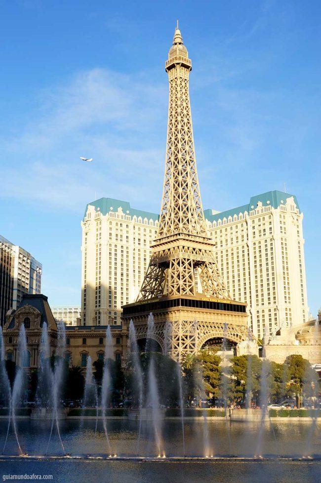 atrações dos hotéis em Las Vegas