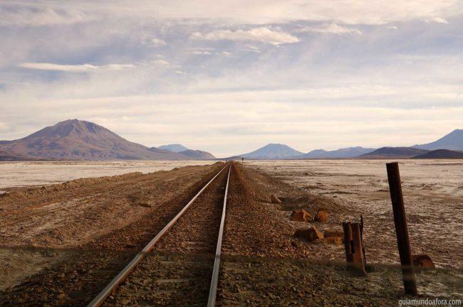 Caminho para o Uyuni