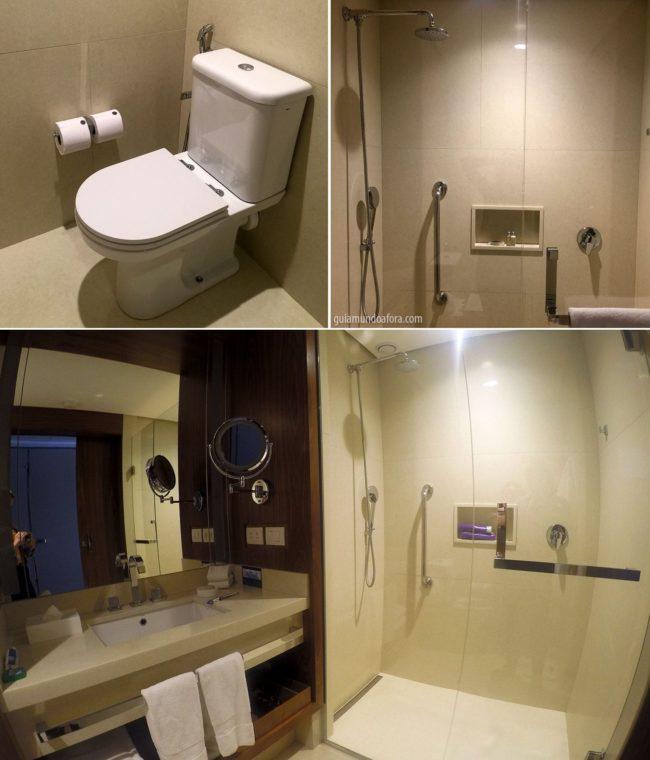 banheiro Hilton Barra