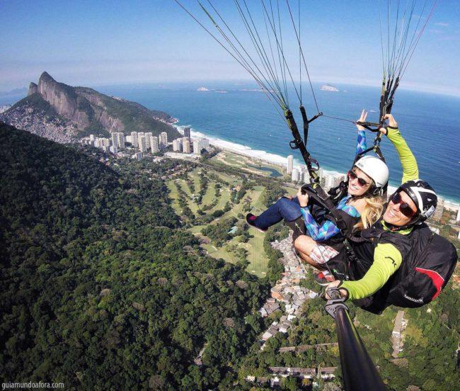 parapente no Rio de Janeiro