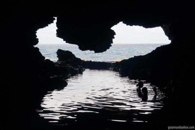 Animal Flower Cave no Caribe