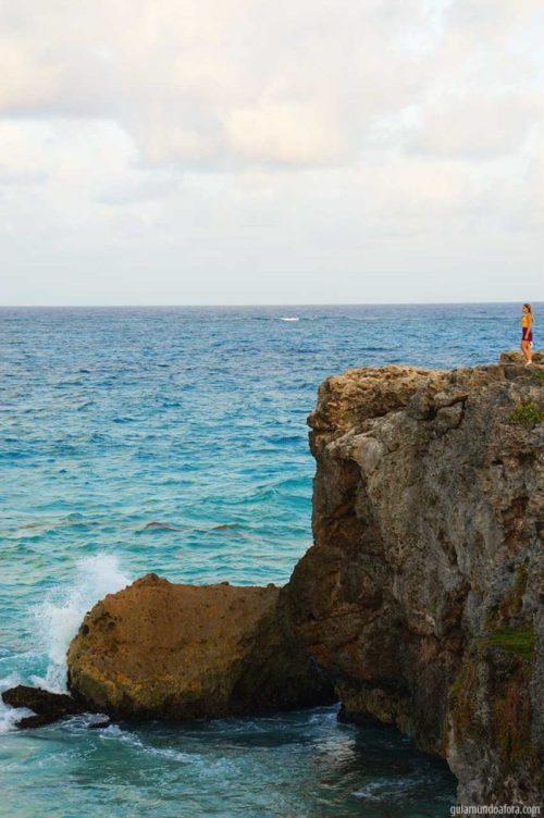 Bottom Bay praias em Barbados