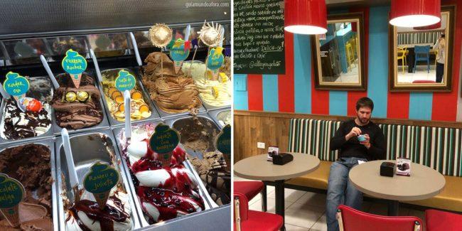 Allegra gelatos - onde comer em Bonito