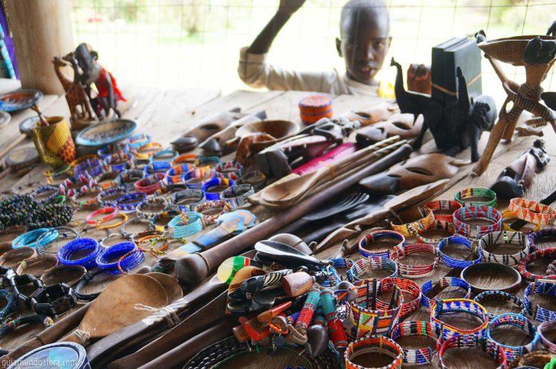 bijuterias da Tribo Masai