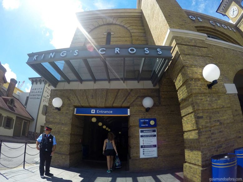 King's Cross na Universal Studios