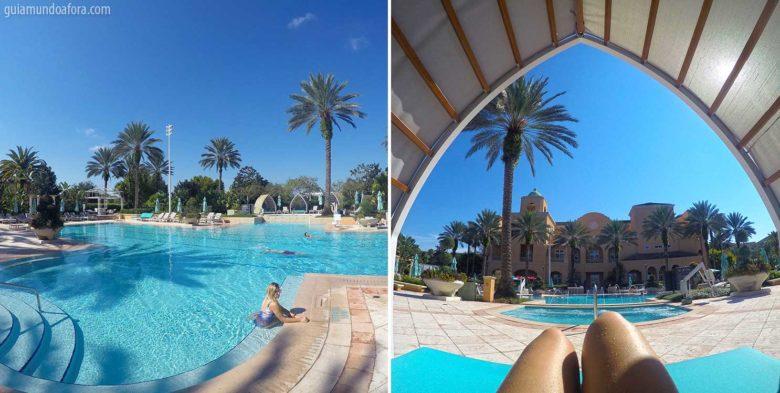 Piscina do Hotel Ritz Carlton Orlando