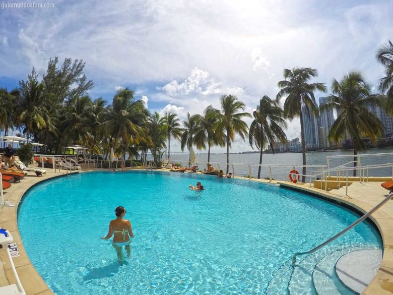 piscina do Mandarin Oriental Hotel am Miami