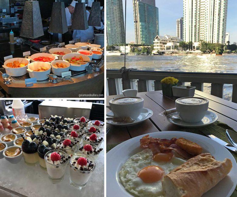 Café da manhã Mandarin Oriental Bangkok