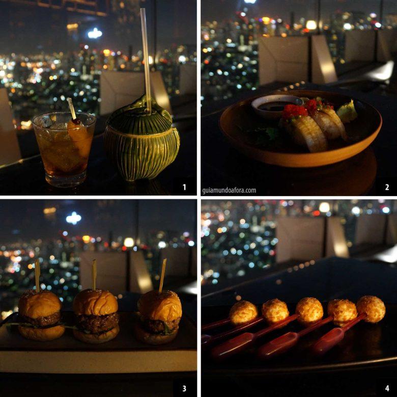 Comer em Bangkok