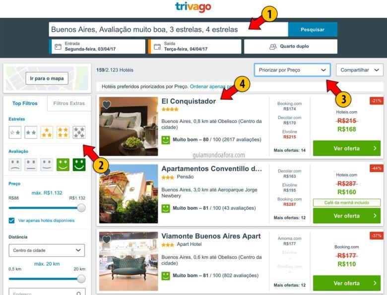 melgor preço de hotel Trivago