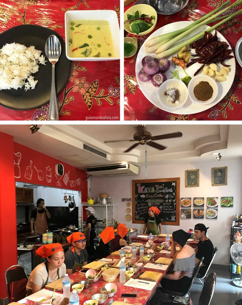 Cooking Class em Phuket com Chuva