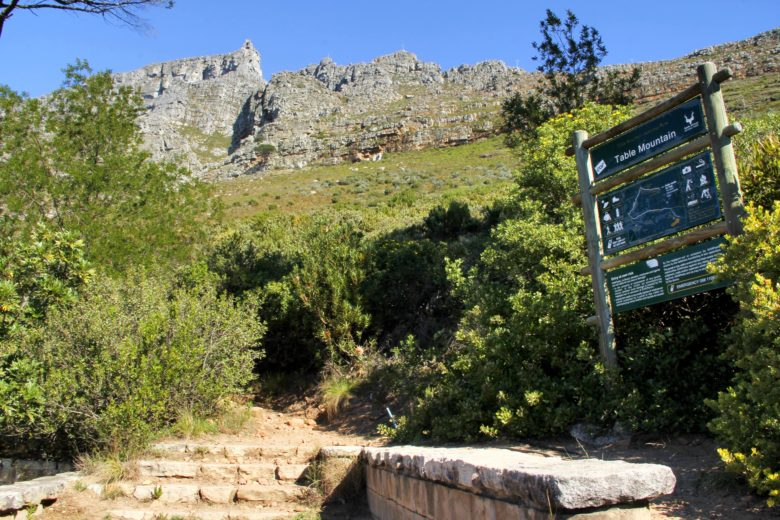 inicio trilha table mountain
