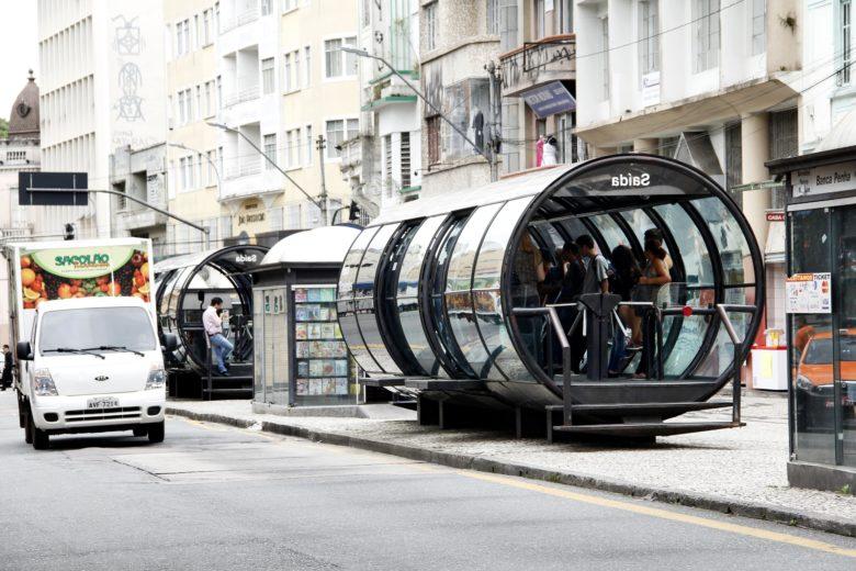 Estação Tubo em Curitiba