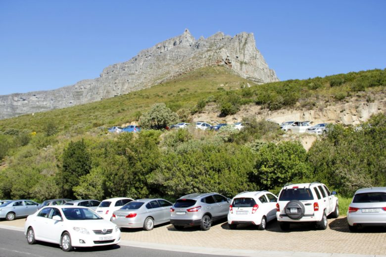 estacionamento table mountain