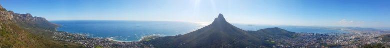 vista panoramica table mountain