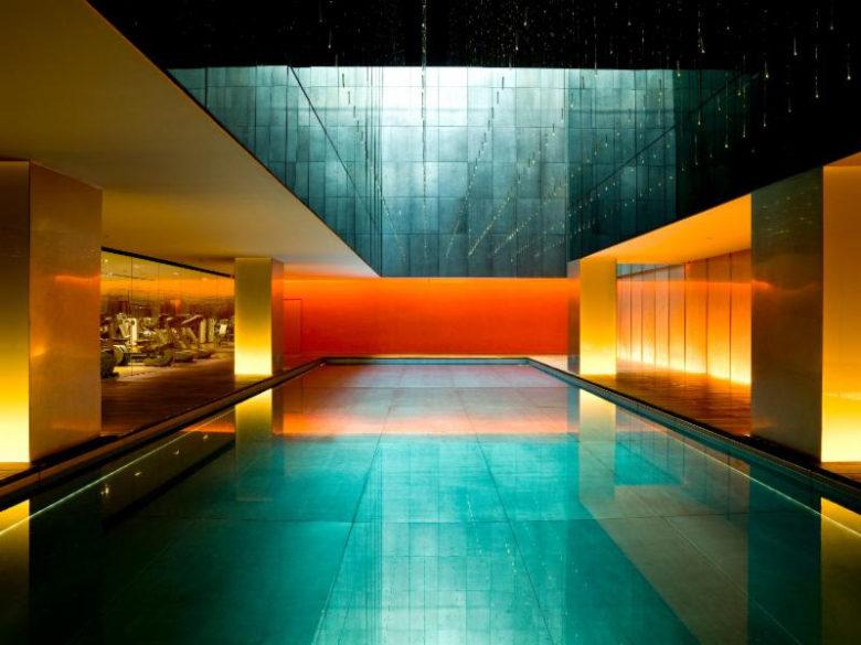 piscinas incríveis ao redor do mundo: temple house