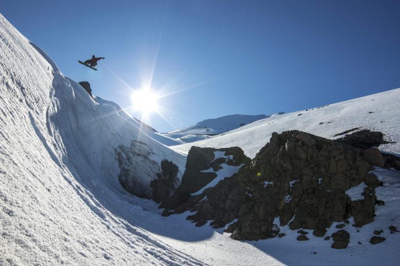 esqui no corralco