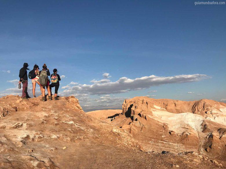 Valle de la Luna no Atacama visual
