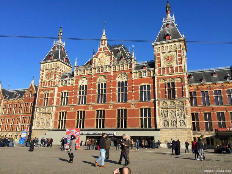 Central Station 2 dias em Amsterdam