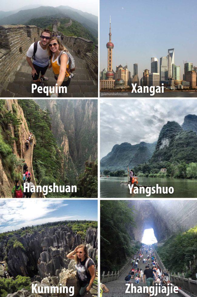 destinos primeira viagem China