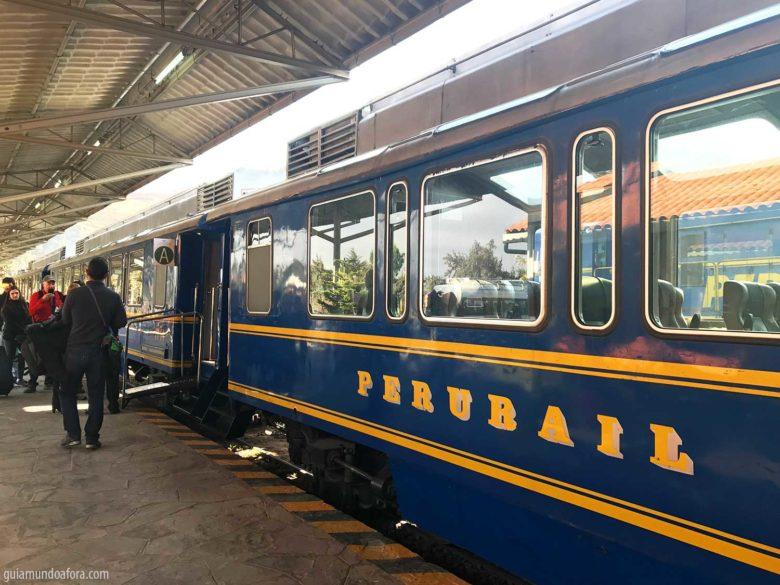 trem da Peru Rail