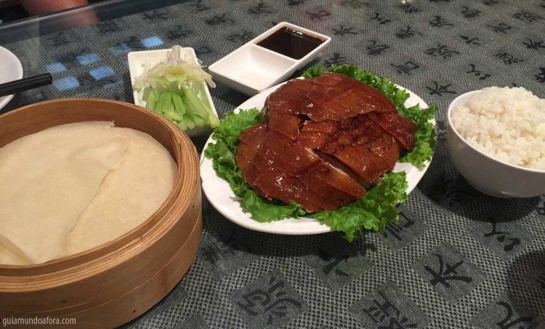 Roasted duck na China