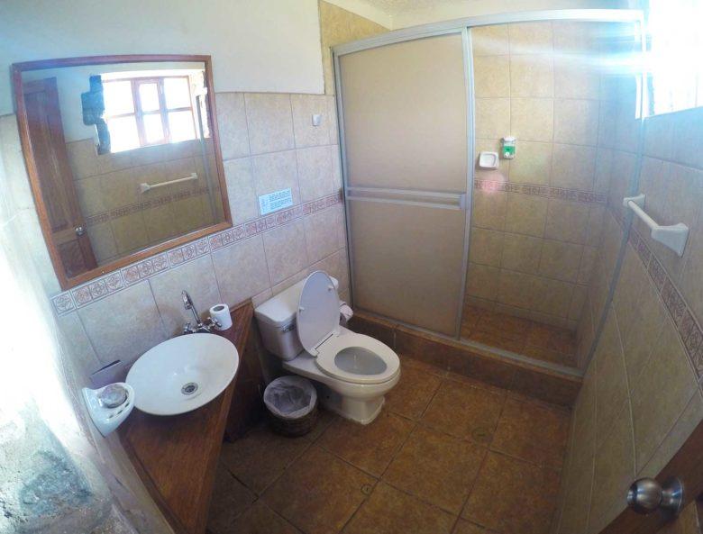 banheiro lodge