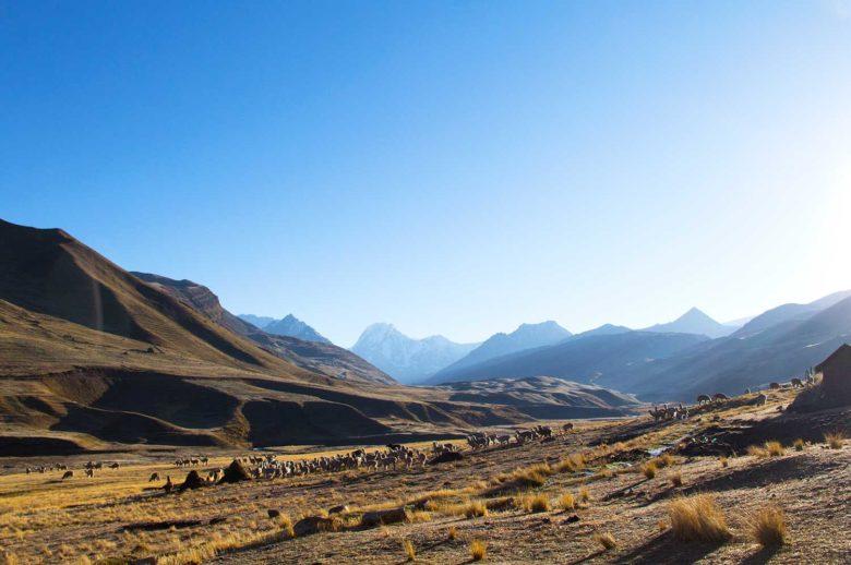 nascer do sol no Peru