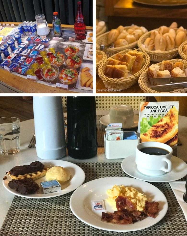 café da manhã Radisson Blu Belo Horizonte