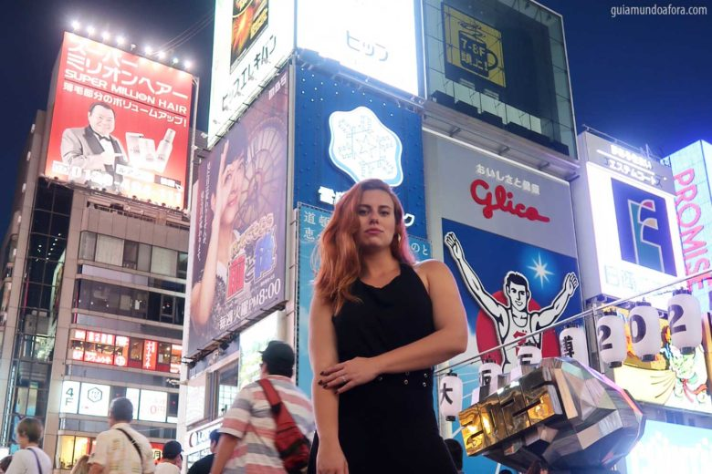 Glico Man em Osaka