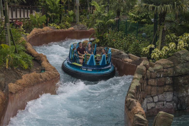 Infinity Falls no SeaWorld Orlando