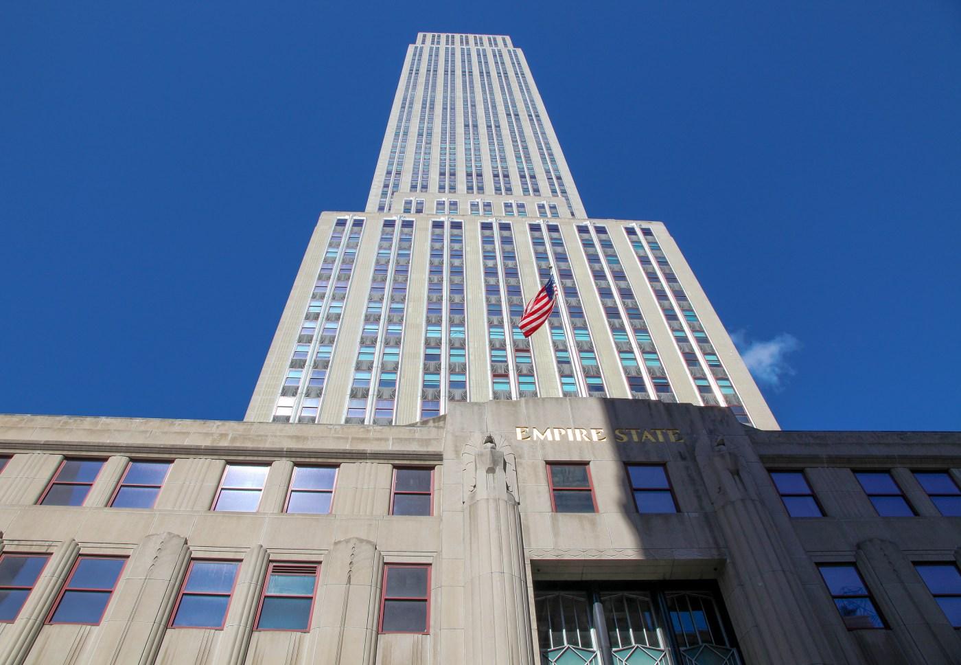 Entrada al Empire State Building