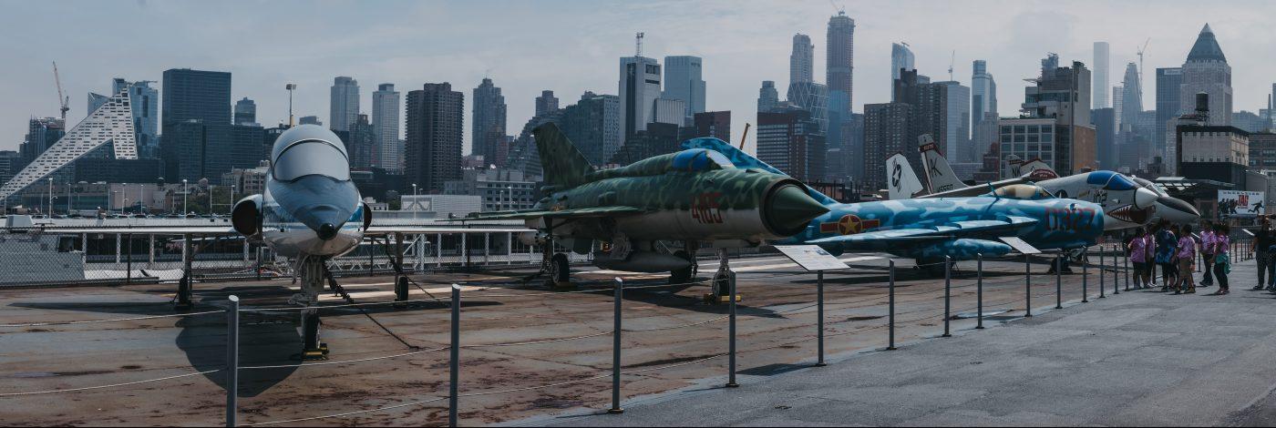 El Intrepid Sea, Air and Space Museum cuenta con algunas piezas únicas en la historia de la aviación